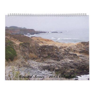 Calendario costero de las escenas 2013