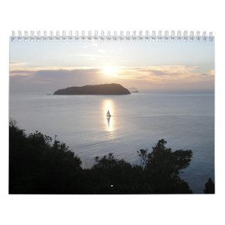 Calendario costero Nueva Zelanda