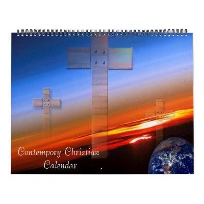Calendario cristiano 2012 de Contempory