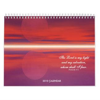 Calendario cristiano de la naturaleza 2010