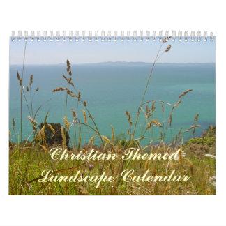 Calendario cristiano - paisajes