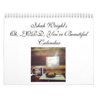 Calendario Cristo-Centrado 2014 de Ishah Wright