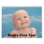 Calendario-Cubierta, el primer año de Noah