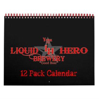 Calendario de 12 paquetes