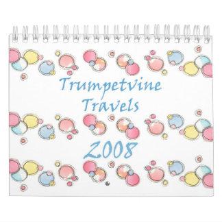 Calendario de 2008 bosquejos