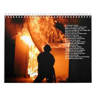 Calendario de 2008 fuegos - modificado para
