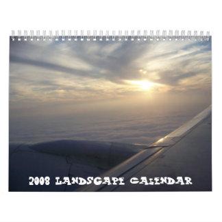 Calendario de 2008 paisajes