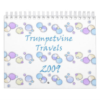 Calendario de 2009 bosquejos