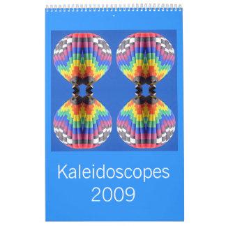 Calendario de 2009 caleidoscopios