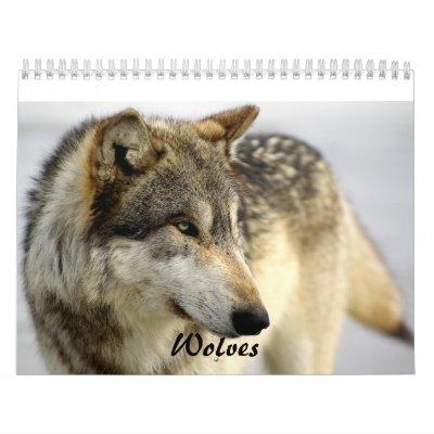 Calendario de 2009 lobos