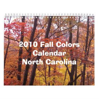 Calendario de 2010 caídas