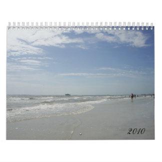 Calendario de 2010 playas