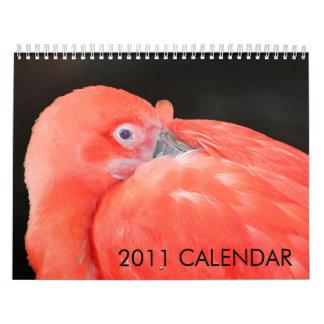 Calendario de 2011 animales creado por la galería