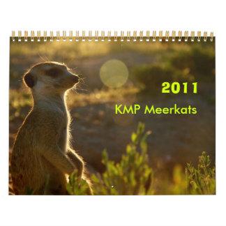 Calendario de 2011 KMP Meerkats