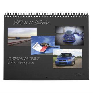 Calendario de 2011 WSC