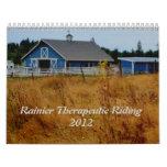 Calendario de 2012 caballos de RTR
