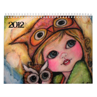 Calendario de 2012 del arte pop mejores amigos de
