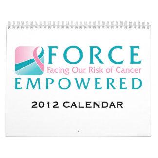 Calendario de 2012 FUERZAS código-ALLCALENDARS de