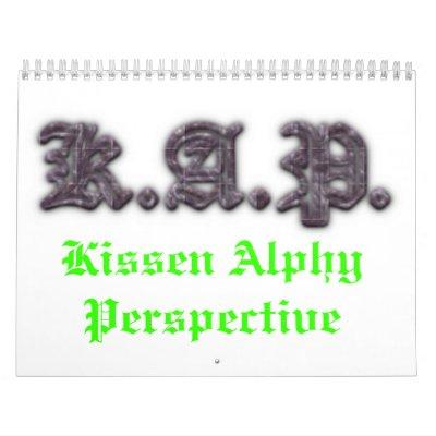 Calendario de 2012 KAP