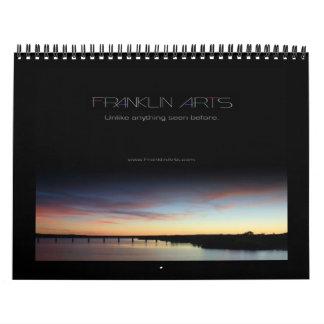 Calendario de 2012 paisajes