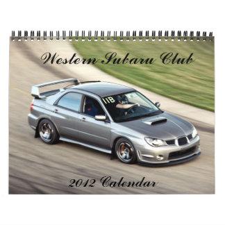 Calendario de 2012 WSC