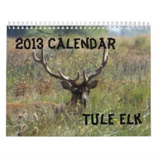 Calendario de 2013 alces
