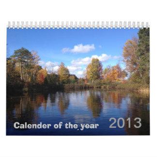 calendario de 2013 años
