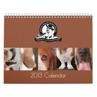 Calendario de 2013 AZBHR