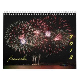calendario de 2013 fuegos artificiales - 3