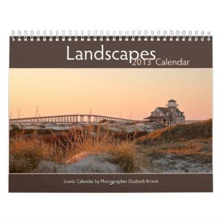 Calendario de 2013 paisajes