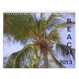 Calendario de 2013 playas