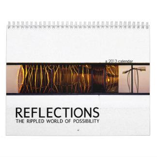 Calendario de 2013 reflexiones