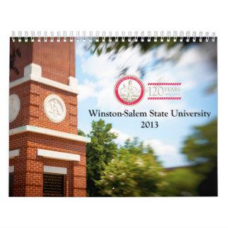 Calendario de 2013 WSSU