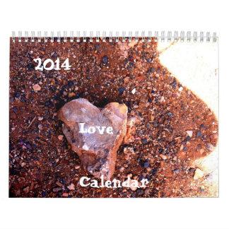 Calendario de 2014 amores