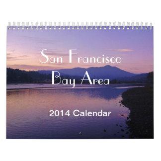 Calendario de 2014 áreas de la Bahía de San