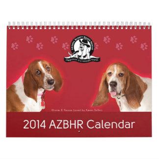 Calendario de 2014 AZBHR