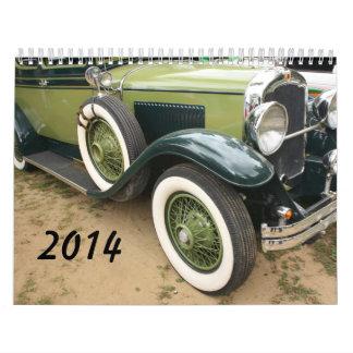 calendario de 2014 coches antiguos