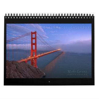 Calendario de 2014 el diverso imágenes