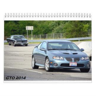 Calendario de 2014 GTO