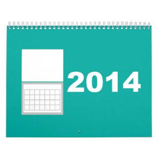 Calendario de 2014 Minimalist