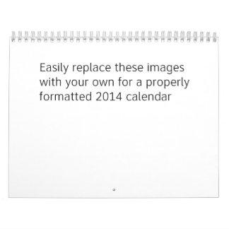 Calendario de 2014 personalizados