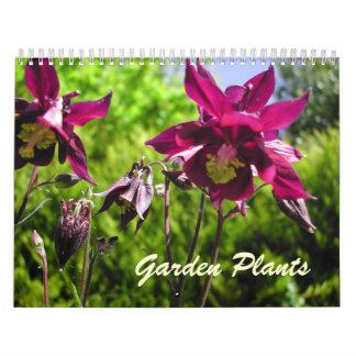 Calendario de 2014 plantas de jardín