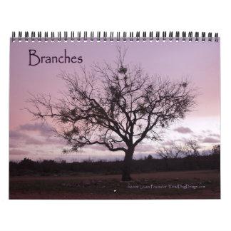 Calendario de 2014 ramas