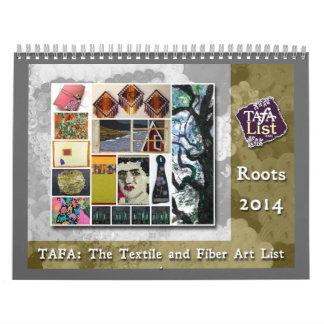 Calendario de 2014 TAFA: Raíces