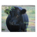 Calendario de 2014 vacas
