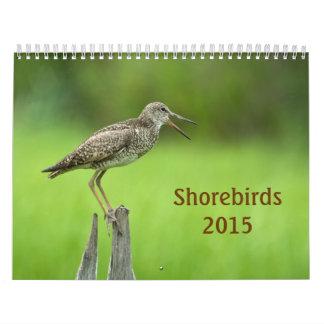Calendario de 2015 aves costeras
