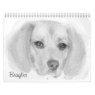 Calendario de 2015 beagles