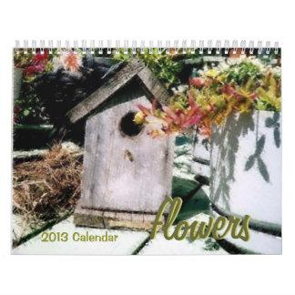 Calendario de 2015 flores
