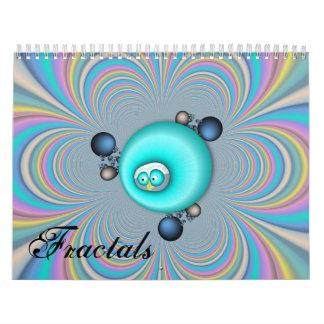 Calendario de 2015 fractales