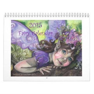 Calendario de 2015 hadas por el Hogan de Erin